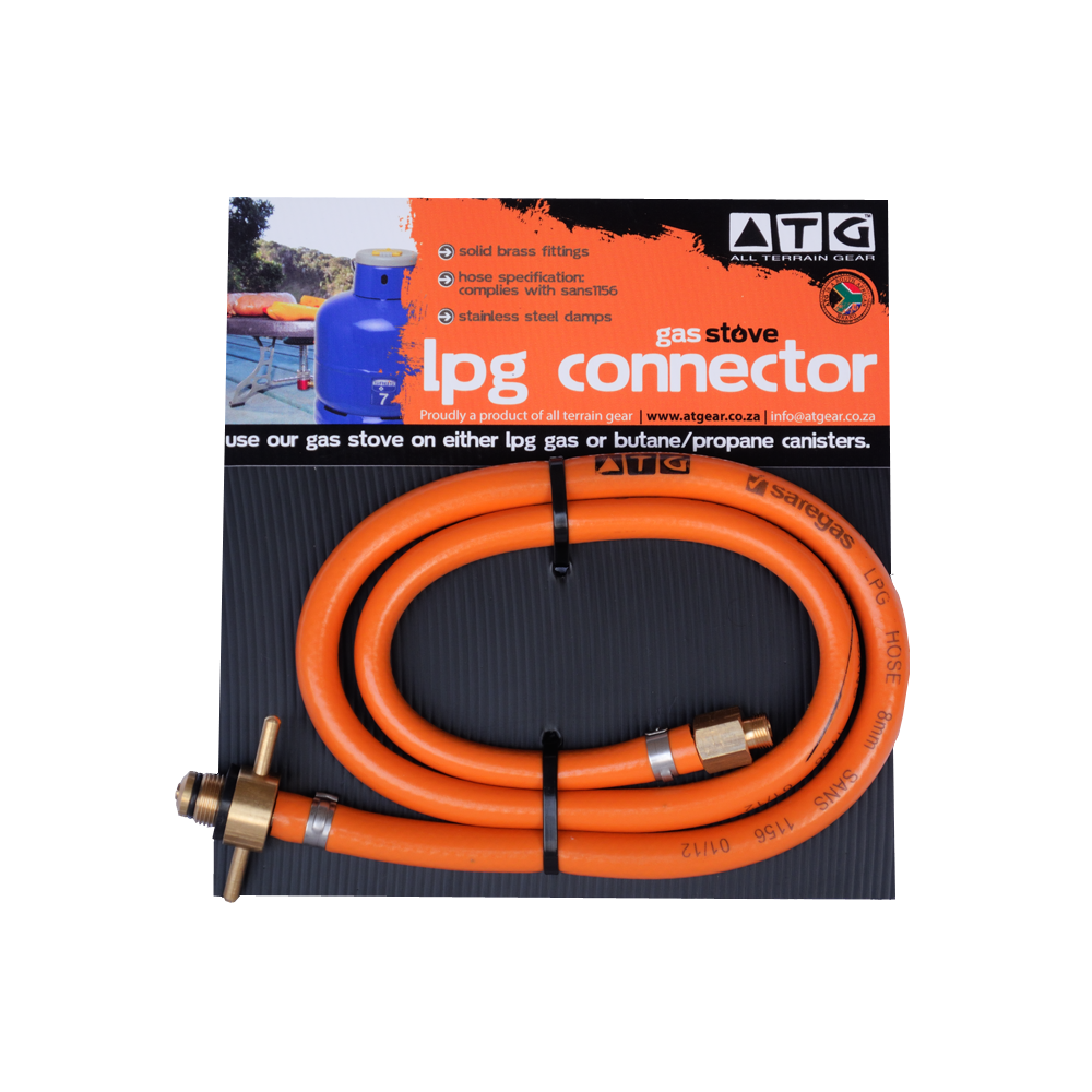 Jiko LPG gas bottle connection hose - All Terrain Gear