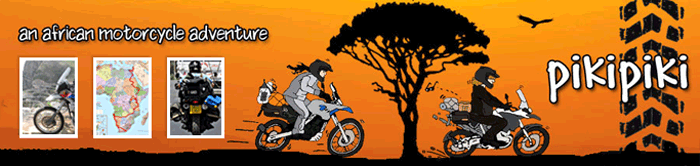 an african motorcyle adventure