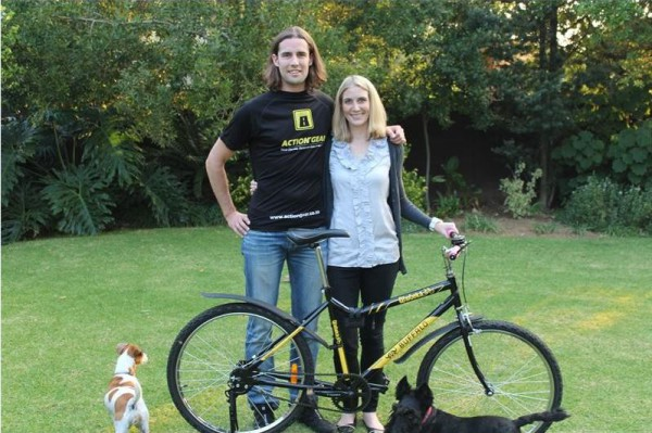 Warrick and Camilla Kernes take on the epic journey to Mount Kilimanjaro for the Qhubeka charity